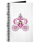 Cute Fairytale Princess in Carriage Journal