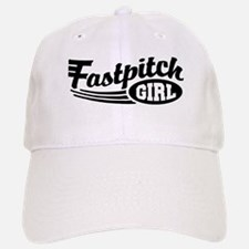 Fastpitch girl Baseball Baseball Cap
