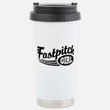 Fastpitch girl Travel Mug