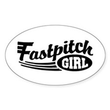 Fastpitch girl Decal