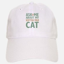 Scottish Fold Cat Baseball Baseball Cap