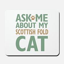 Scottish Fold Cat Mousepad