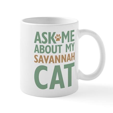Savannah Cat Mug