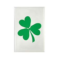 Lucky Irish Shamrock Rectangle Magnet