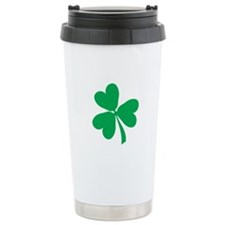 Lucky Irish Shamrock Travel Mug