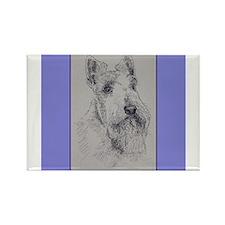 Scottish Terrier Rectangle Magnet