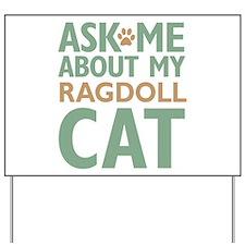 Ragdoll Cat Yard Sign