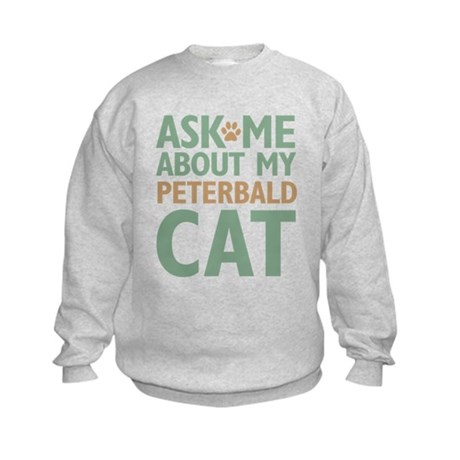 Peterbald Cat Kids Sweatshirt