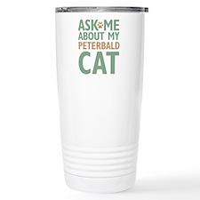Peterbald Cat Travel Coffee Mug