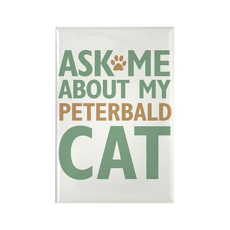 Peterbald Cat Rectangle Magnet (100 pack)