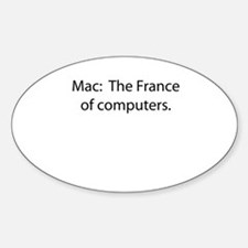 Mac: The France of Computers. Decal