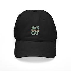 Oregon Rex Cat Baseball Hat