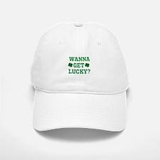 Wanna Get Lucky? Baseball Baseball Cap