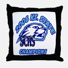 State Champs!! Throw Pillow