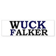 Wuck Falker Bumper Sticker