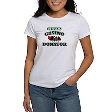 Official Casino Donator Tee
