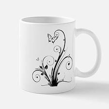 Swirly Butterflies Mug