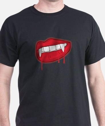 CRAZYFISH bloody fangs T-Shirt