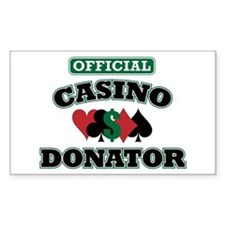 Official Casino Donator Decal