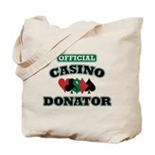 Official Casino Donator Tote Bag