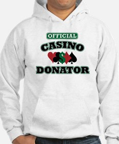 Official Casino Donator Hoodie