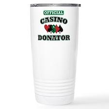 Official Casino Donator Travel Mug