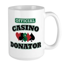 Official Casino Donator Mug