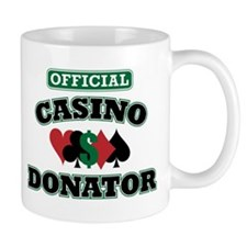 Official Casino Donator Small Mug