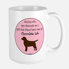 Girls Best Friend - Chocolate Mug