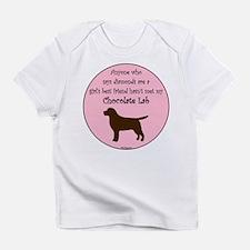 Girls Best Friend - Chocolate Infant T-Shirt