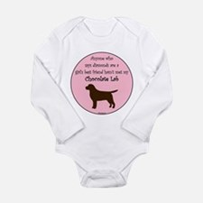 Girls Best Friend - Chocolate Long Sleeve Infant B