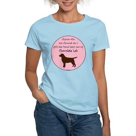 Girls Best Friend - Chocolate Women's Light T-Shir