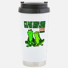 25th Wedding Anniversary Travel Mug