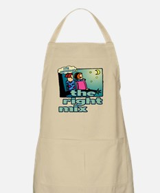 25th Wedding Anniversary Apron