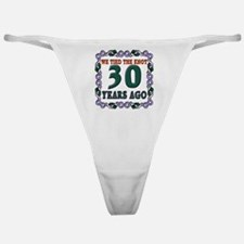 30th Wedding Anniversary Classic Thong