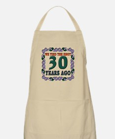 30th Wedding Anniversary Apron