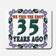 35th Wedding Anniversary Mousepad