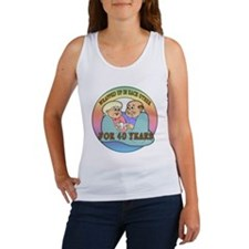 40th Wedding Anniversary Women's Tank Top