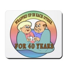 40th Wedding Anniversary Mousepad