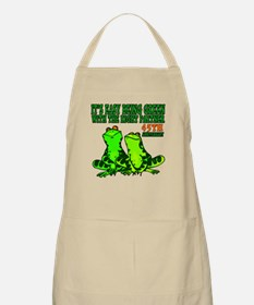 45th Wedding Anniversary Apron
