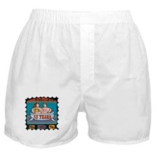 50th Wedding Anniversary Boxer Shorts