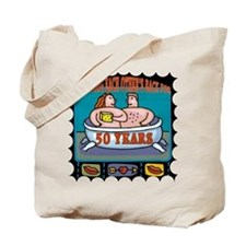 50th Wedding Anniversary Tote Bag