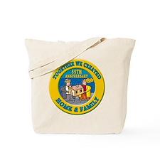 55th Wedding Anniversary Tote Bag