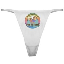 60th Wedding Anniversary Classic Thong