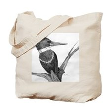 Kingfisher Crossroads Tote Bag