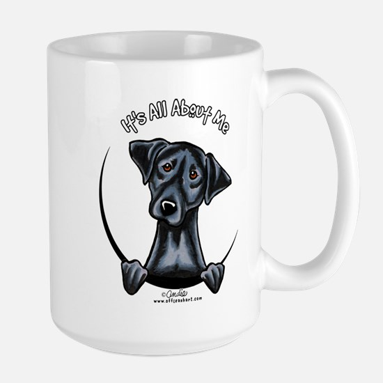 Black Lab IAAM Large Mug