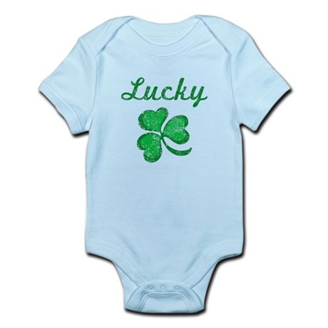Lucky 3 Infant Bodysuit