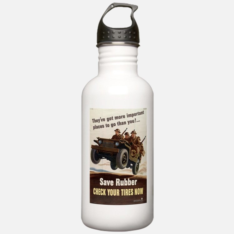 SAVE RUBBER Water Bottle