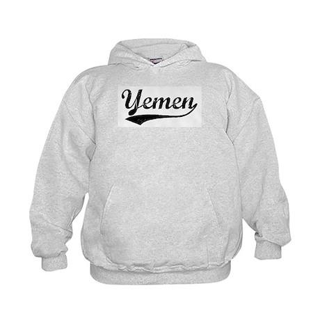Vintage Yemen Kids Hoodie