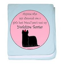 Girls Best Friend - Yorkshire baby blanket